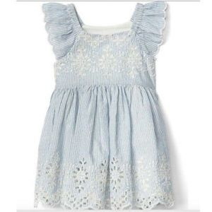 Baby Gap Striped Dress Lined with Bloomers 6-12 mo